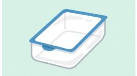 使用後のタッパーのにおいを簡単に消す方法